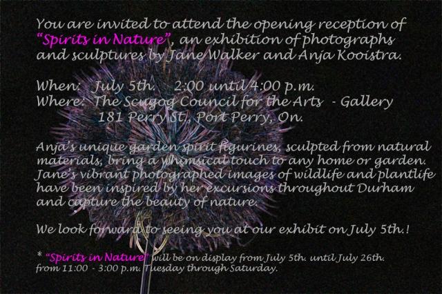 Invitation to Exhibit Reception
